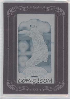 2012 Topps Gypsy Queen - [Base] - Printing Plate Minis Cyan Framed #141 - Roy Oswalt /1