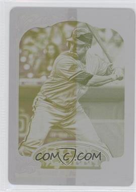 2012 Topps Gypsy Queen - [Base] - Printing Plate Yellow #14 - Miguel Montero /1