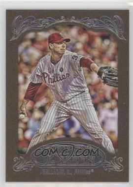 2012 Topps Gypsy Queen - [Base] - Retail Gold #10 - Roy Halladay