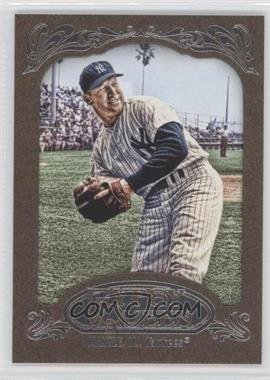 2012 Topps Gypsy Queen - [Base] - Retail Gold #120 - Mickey Mantle