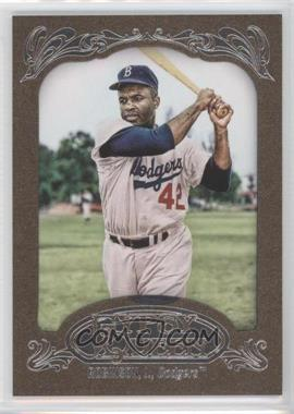 2012 Topps Gypsy Queen - [Base] - Retail Gold #18 - Jackie Robinson