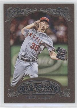 2012 Topps Gypsy Queen - [Base] - Retail Gold #271 - Jered Weaver