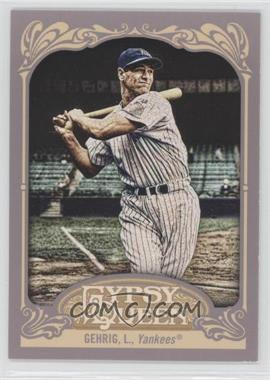 2012 Topps Gypsy Queen - [Base] #236.2 - Lou Gehrig (Pinstripe Uniform)