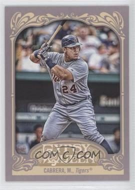 2012 Topps Gypsy Queen - [Base] #50.2 - Miguel Cabrera (Batting)