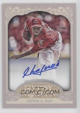 2012 Topps Gypsy Queen - Certified Autograph - [Autographed] #GQA-AC - Aroldis Chapman