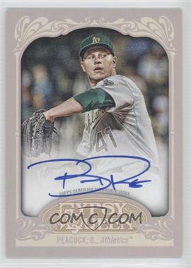 2012 Topps Gypsy Queen - Certified Autograph - [Autographed] #GQA-BPK - Brad Peacock