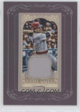 2012 Topps Gypsy Queen - Framed Mini Relic #GQMR-CF - Carlton Fisk