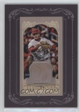 2012 Topps Gypsy Queen - Framed Mini Relic #GQMR-DF - David Freese