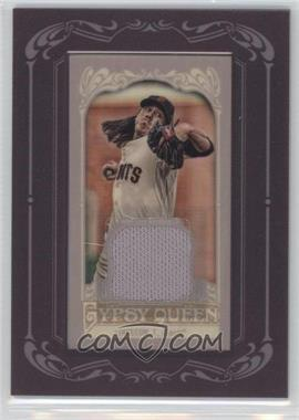 2012 Topps Gypsy Queen - Framed Mini Relic #GQMR-TL - Tim Lincecum