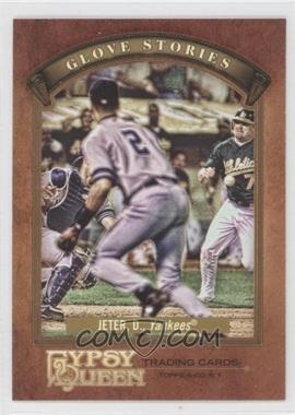 2012 Topps Gypsy Queen - Glove Stories #GS-DJ - Derek Jeter