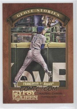 2012 Topps Gypsy Queen - Glove Stories #GS-JF - Jeff Francoeur