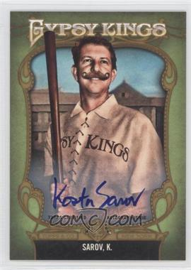 2012 Topps Gypsy Queen - Gypsy Kings Certifed Autographs - [Autographed] #GKA-10 - Kory Sagers