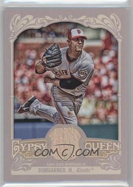 2012 Topps Gypsy Queen - Relics #GQR-MB - Madison Bumgarner