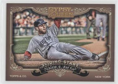 2012 Topps Gypsy Queen - Sliding Stars #SS-DP - Dustin Pedroia