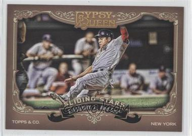 2012 Topps Gypsy Queen - Sliding Stars #SS-JE - Jacoby Ellsbury