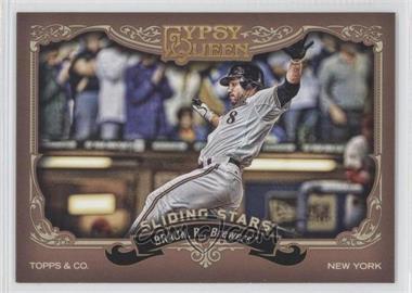 2012 Topps Gypsy Queen - Sliding Stars #SS-RB - Ryan Braun