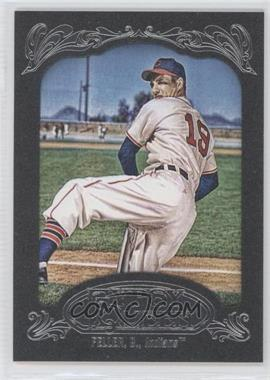 2012 Topps Gypsy Queen Black Paper Frame #267 - Bob Feller /1