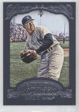 2012 Topps Gypsy Queen Blue Paper Frame #120 - Mickey Mantle /599