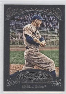 2012 Topps Gypsy Queen Blue Paper Frame #236 - Lou Gehrig /599