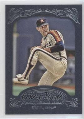 2012 Topps Gypsy Queen Blue Paper Frame #256 - Nolan Ryan /599