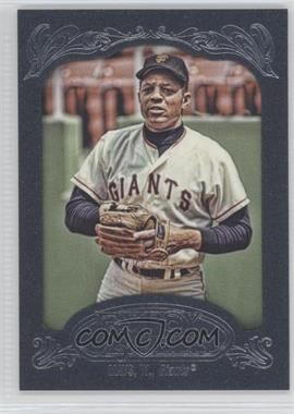 2012 Topps Gypsy Queen Blue Paper Frame #280 - Willie Mays /599
