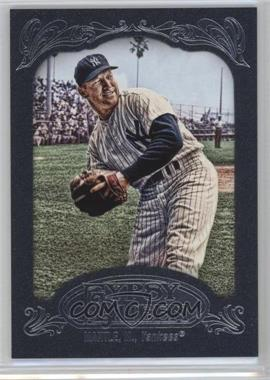 2012 Topps Gypsy Queen Blue #120 - Mickey Mantle /599