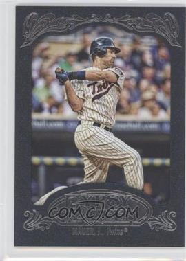 2012 Topps Gypsy Queen Blue #140 - Joe Mauer /599