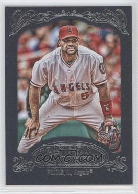 2012 Topps Gypsy Queen Blue #180 - Albert Pujols /599