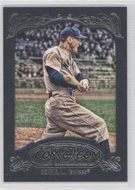 2012 Topps Gypsy Queen Blue #236 - Lou Gehrig /599