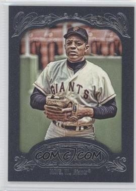 2012 Topps Gypsy Queen Blue #280 - Willie Mays /599