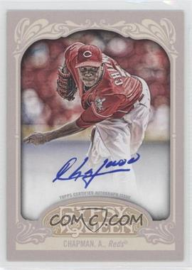 2012 Topps Gypsy Queen Certified Autograph [Autographed] #GQA-AC - Aroldis Chapman