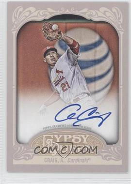 2012 Topps Gypsy Queen Certified Autograph [Autographed] #GQA-ACR - Allen Craig