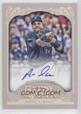2012 Topps Gypsy Queen Certified Autograph [Autographed] #GQA-AR - Aramis Ramirez