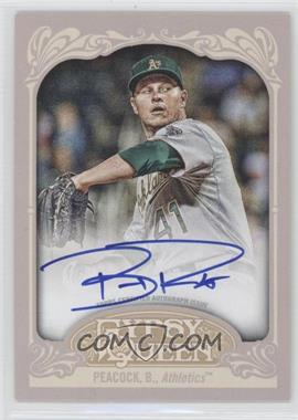 2012 Topps Gypsy Queen Certified Autograph [Autographed] #GQA-BPK - Brad Peacock