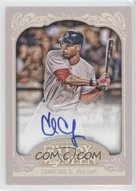 2012 Topps Gypsy Queen Certified Autograph [Autographed] #GQA-CC - Carl Crawford