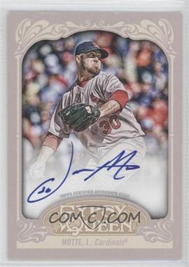 2012 Topps Gypsy Queen Certified Autograph [Autographed] #GQA-JMO - Jason Motte