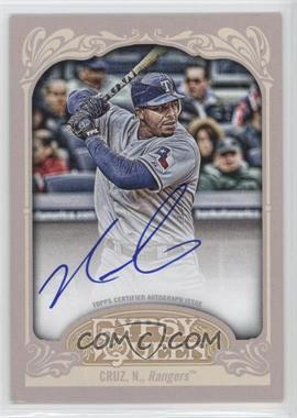 2012 Topps Gypsy Queen Certified Autograph [Autographed] #GQA-NC - Nelson Cruz