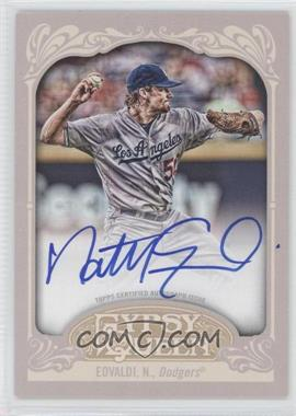 2012 Topps Gypsy Queen Certified Autograph [Autographed] #GQA-NE - Nathan Eovaldi