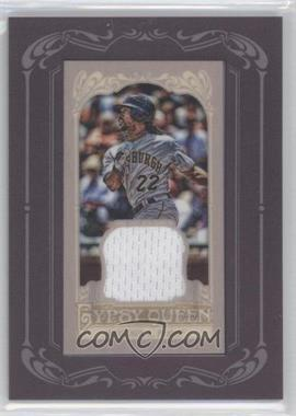 2012 Topps Gypsy Queen Framed Mini Relic #GQMR-AM - Andrew McCutchen