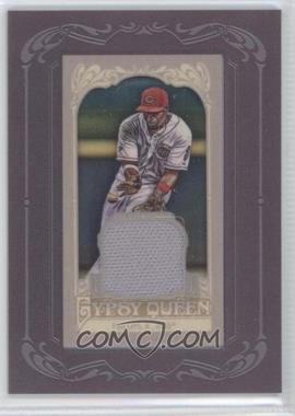 2012 Topps Gypsy Queen Framed Mini Relic #GQMR-BP - Brandon Phillips