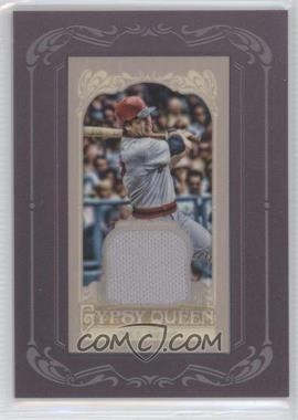 2012 Topps Gypsy Queen Framed Mini Relic #GQMR-CF - Carlton Fisk