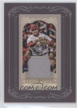 2012 Topps Gypsy Queen Framed Mini Relic #GQMR-DF - David Freese