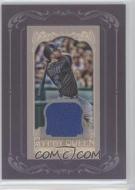 2012 Topps Gypsy Queen Framed Mini Relic #GQMR-DW - David Wright