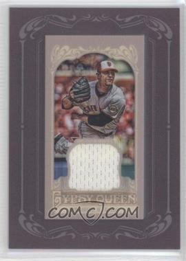 2012 Topps Gypsy Queen Framed Mini Relic #GQMR-MB - Madison Bumgarner