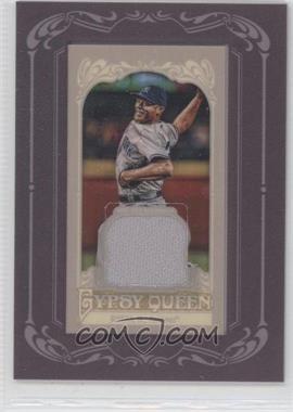 2012 Topps Gypsy Queen Framed Mini Relic #GQMR-MR - Mariano Rivera