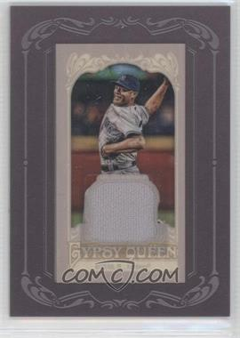2012 Topps Gypsy Queen Framed Mini Relic #GQMR-MR - Mariano Rivera