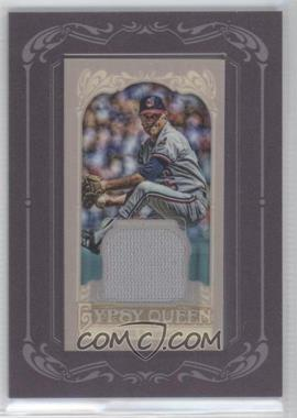 2012 Topps Gypsy Queen Framed Mini Relic #GQMR-PN - Phil Niekro
