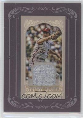 2012 Topps Gypsy Queen Framed Mini Relic #GQMR-SC - Steve Carlton