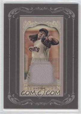 2012 Topps Gypsy Queen Framed Mini Relic #GQMR-TL - Tim Lincecum