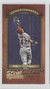 2012 Topps Gypsy Queen Glove Stories Minis #GS-CY - Chris Young